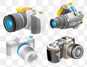 Cartoon Camera - Photography Camera Icon PNG