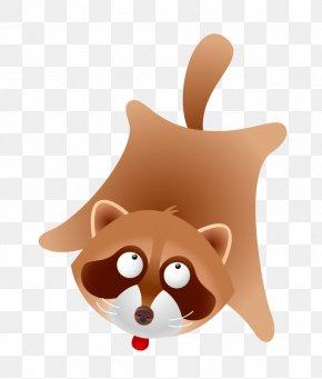 Cartoon Raccoon - Raccoon Bear Euclidean Vector Procyonidae PNG