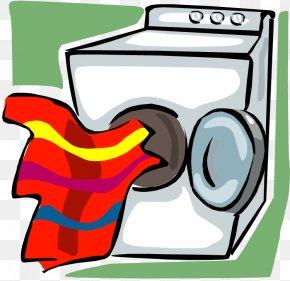 Clothes Clip - Clothes Dryer Clothes Line Washing Machine Clip Art PNG