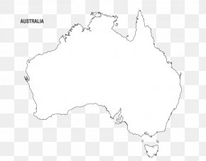 Vector Australia - Line Black And White Angle Point PNG