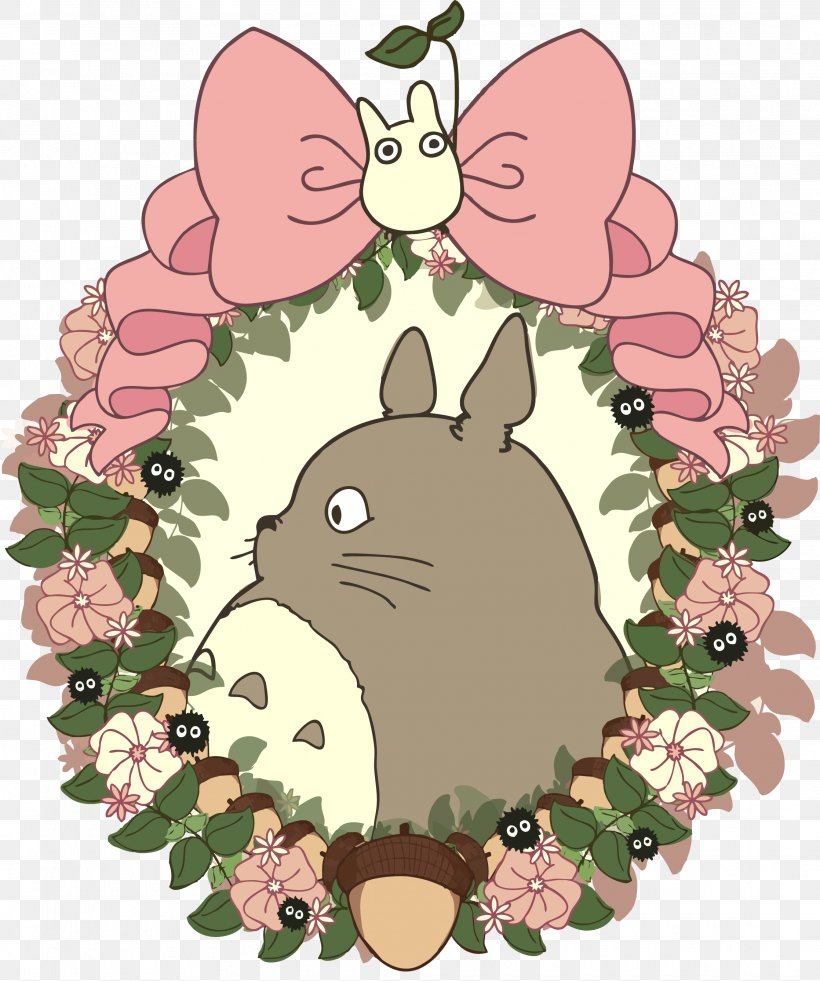 Studio Ghibli Drawing My Neighbor Totoro Kawaii Wallpaper