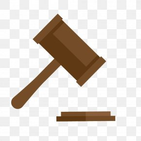 Stock Vector Judge Hammer - Judge Gavel Lawyer Court PNG