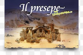 Christmas - Nativity Scene Christmas Landscape Stock Photography Poster PNG