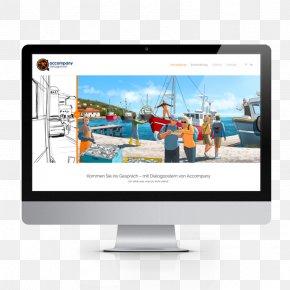Social Poster Mockup - Web Design Web Development Customer Service PNG