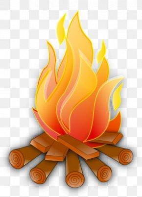 Campfire HD - Fire Flame Clip Art PNG