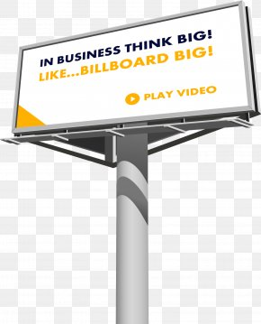Billboard - Out-of-home Advertising Digital Billboard PNG
