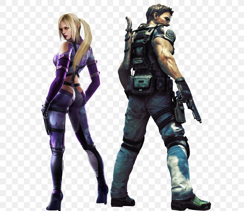 Resident Evil 5 Resident Evil Code Veronica Chris Redfield Jill Valentine Claire Redfield Png 600x710px Resident
