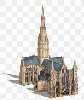 Cathedral Picture - Salisbury Cathedral School Stonehenge Salisbury Cathedral From The Bishop's Grounds Architecture Of The Medieval Cathedrals Of England PNG