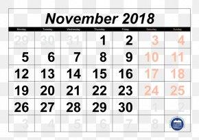 Calendar 2018 - Online Calendar Calendar Date Month June PNG