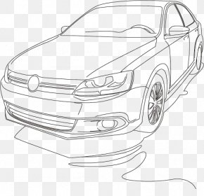 Car Artwork - Car Automotive Design Volkswagen Jetta PNG
