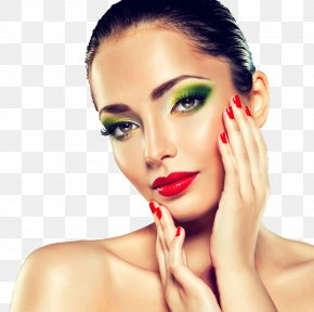 Makeup Model - Cosmetics Model Beauty Nail Polish PNG
