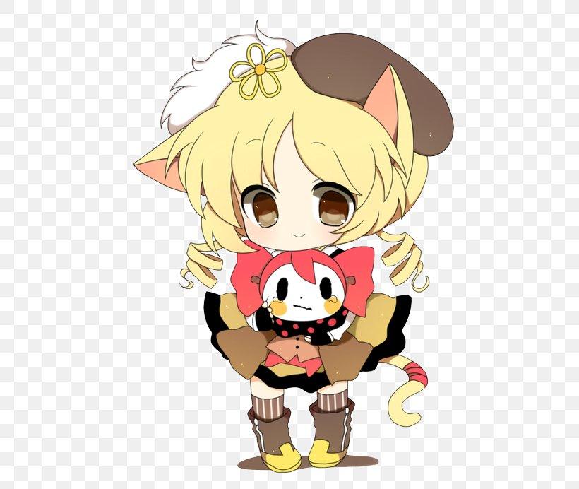 Mami Tomoe Kyubey Puella Magi Madoka Magica Desktop Wallpaper Clip Art Png 514x692px Watercolor Cartoon Flower