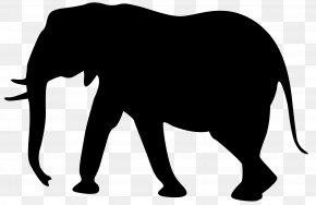Elephant Silhouette Clip Art Image - Elephant Silhouette Clip Art PNG
