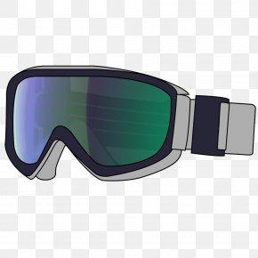 GOGGLES - Eyewear Goggles Blue Glasses Aqua PNG