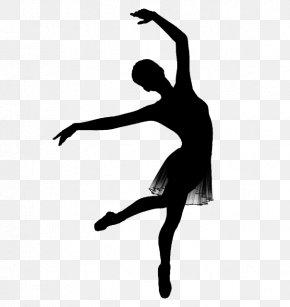 Dancer Silhouette Svg Vector - Ballet Dancer Ballet Dancer Dance Studio Contemporary Ballet PNG