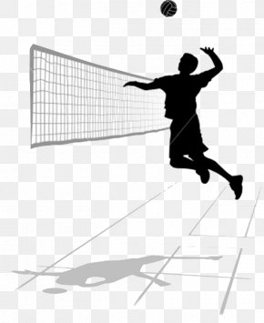 Volleyball Transparent Image - Volleyball Spiking Roundnet Clip Art PNG
