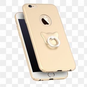Tuhao Gold Cat Finger Ring Buckle - IPhone 6 Plus IPhone 7 Plus IPhone 6s Plus Telephone Ring PNG