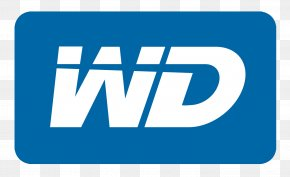 Western Digital Logo - Western Digital Hard Disk Drive Laptop Data Storage Network-attached Storage PNG