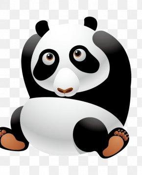 Giant Panda - Giant Panda Cartoon Cuteness Clip Art PNG