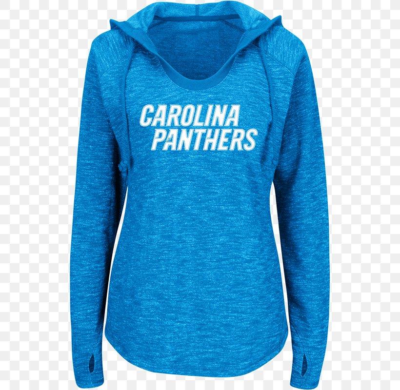 Carolina Panthers Hoodie (M) T-shirt Turquoise M SHOPOHOLIC FASHION, PNG, 800x800px, Carolina Panthers, Active Shirt, Blue, Button, Buttonhook Download Free