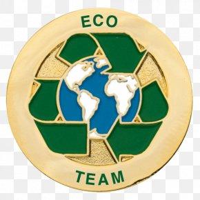School - Eco-Schools Logo Badge Lapel Pin PNG