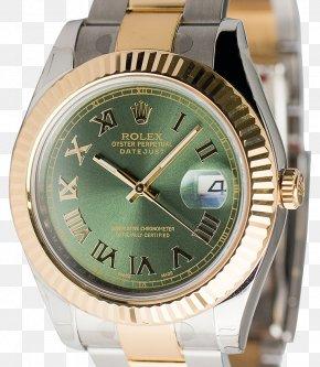 Rolex - Rolex Datejust Watch Strap Olive PNG