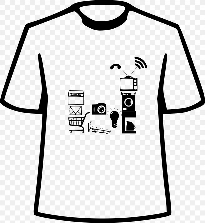 T-shirt Clip Art, PNG, 2199x2388px, Tshirt, Area, Artwork, Black, Black And White Download Free