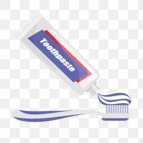 Vector Toothpaste - Toothpaste Electric Toothbrush PNG