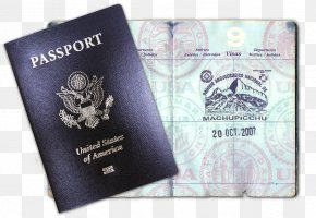Passport - Fake Passport Travel Visa United States Passport PNG