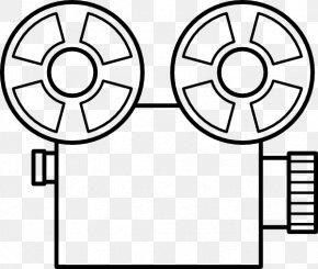 Projector Cliparts - Film Movie Camera Reel Clip Art PNG