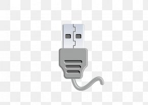 Vector USB Interface - USB Decoration Data Cable Computer File PNG