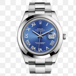 Blue Rolex Watch Male Table - Rolex Datejust Rolex Submariner Counterfeit Watch PNG