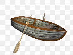 Retro Boat Material Free To Pull - Boat Ship Canoe PNG