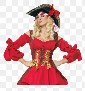 Hat - Halloween Costume Piracy Hat Woman PNG