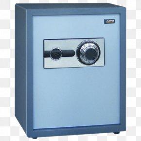 Blue Rotation Lock Safes - Wenjiang District Safe Deposit Box Master Lock PNG