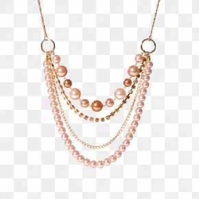 Necklace - Necklace Oriflame Bead Bijou Bracelet PNG