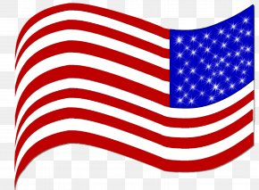 American Flag - Flag Of The United States Line 03120 PNG