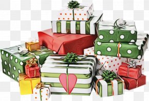 Christmas Eve Gift Wrapping - Present Gift Wrapping Christmas Christmas Eve PNG