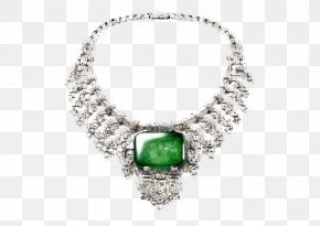 Emerald Necklace - Earring Jewellery Necklace Cartier Bracelet PNG