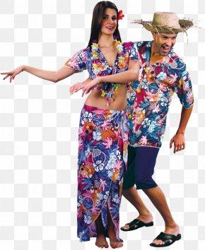 Hawaiian - Hawaii Costume Party Dress PNG