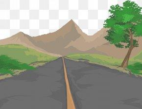 Vector Road - Road Euclidean Vector Illustration PNG