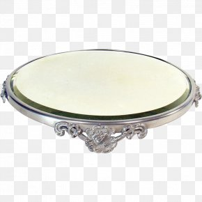 Silver Plate - Silver PNG