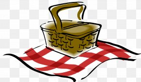 Pictures Of Picnic - Picnic Basket Clip Art PNG