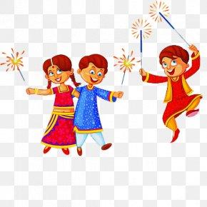 Gesture Child Art - Cartoon Child Art Gesture PNG