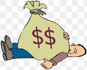 Money Bag - Money Bag Debt Finance Clip Art PNG