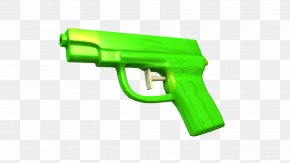 Hand Gun - Water Gun Firearm Weapon Trigger Pistol PNG