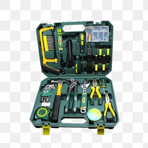 Product Physical Metal Toolbox - Toolbox Set Tool DIY Store PNG