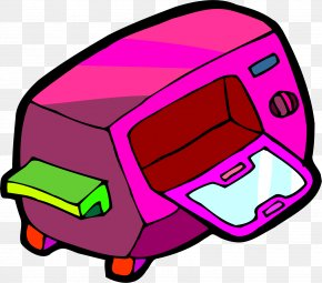 Cartoon Microwave Oven - Microwave Oven Clip Art PNG
