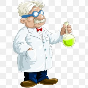 Professor Vector - Bleach Chemical Substance Chemistry Liquid Stain PNG