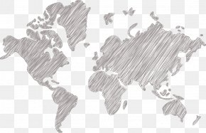 World Map - Earth World Map Globe PNG
